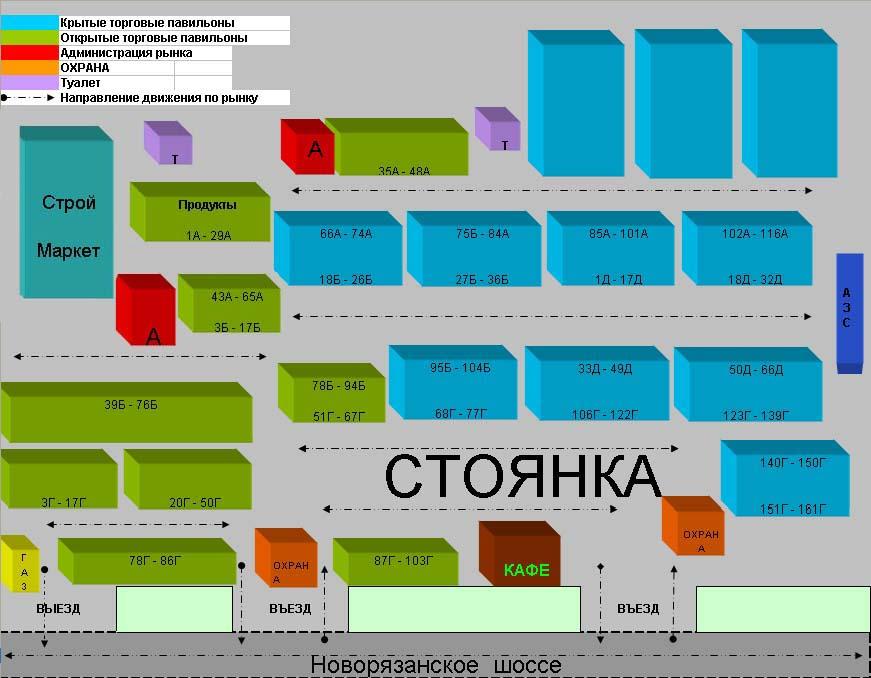 схема люберецкого ПКЦ
